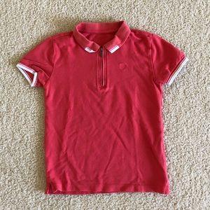 Zara boy's Sz 8 zippier detail polo shirts